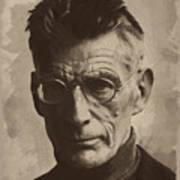 Samuel Beckett 1 Art Print