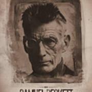 Samuel Beckett 01 Art Print