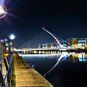 Samuel Beckett Bridge 2 Art Print