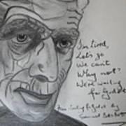 Samuel Beckett Art Print