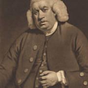 Samuel Johnson Art Print