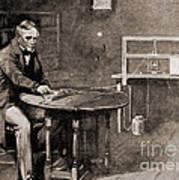 Samuel Morse And Telegraph, 19th Century Art Print