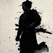 Samurai Art Print by Nicklas Gustafsson