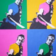 Samurai X 4 Art Print
