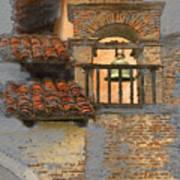 San Antonio Bell Art Print