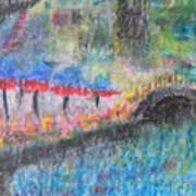 San Antonio By The River I Art Print