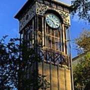 San Antonio Clock Art Print