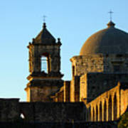San Antonio Mission Art Print