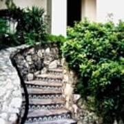 San Antonio Stairway Art Print