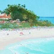 San Clemente Beach Panorama Art Print