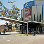 San Diego Air And Space Museum Art Print