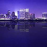 San Diego Cityscape Art Print