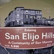 San Elijo Hills Art Print