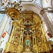 San Felipe De Jesus Satelite Art Print
