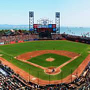 San Francisco Ballpark Art Print