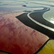 San Francisco Bay Salt Flats 4 Art Print