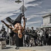 San Francisco Breakdancer Art Print