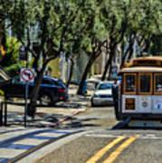 San Francisco, Cable Cars -1 Art Print