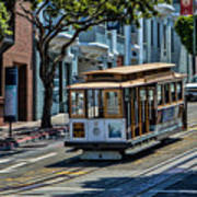 San Francisco, Cable Cars -2 Art Print