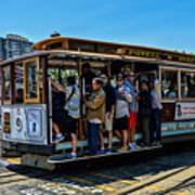 San Francisco, Cable Cars -3 Art Print