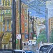 San Francisco Commute Art Print