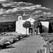 San Francisco De Assisi, Golden, New Mexico, March 11, 2017 Art Print