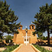 San Francisco De Assisi Mission Church Taos New Mexico 2 Art Print