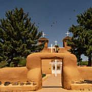 San Francisco De Assisi Mission Church Taos New Mexico Art Print