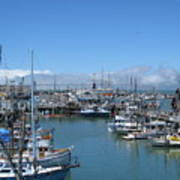 San Francisco Fishing Fleet Art Print