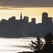 San Francisco - From Tamalpais East Art Print