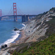 San Francisco - Golden Gate Bridge Art Print