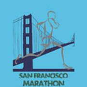 San Francisco Marathon2 Art Print