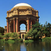 San Francisco - Palace Of Fine Arts Art Print