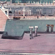San Francisco Rooftops Art Print