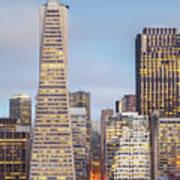 San Francisco Skyline 2 Art Print