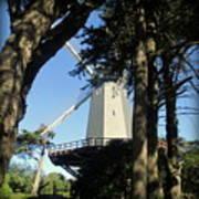 San Francisco Windmills Art Print