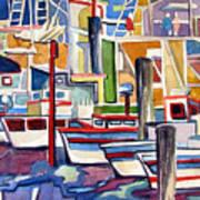 San Fransico Marina Art Print