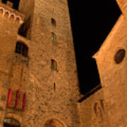 San Gimignano Art Print