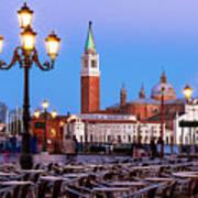 San Giorgio Maggiore From Piazza San Marco - Venice Art Print