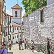 San Gregorio Granada Art Print