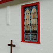 San Iglesia Church Window Art Print