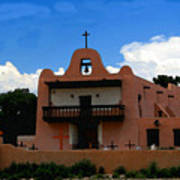 San Ildefonso Pueblo Art Print