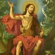 San Juan Bautista Art Print