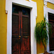 San Juan Doors Art Print by Perry Webster