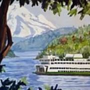San Juan Ferry Art Print