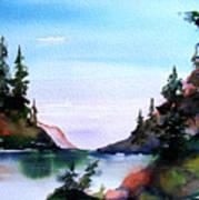 San Juan Island Art Print