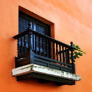 San Juan Window Art Print