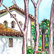San Louis Obispo Mission Art Print