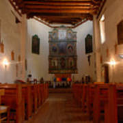 San Miguel Mission Church Art Print