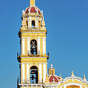 San Pedro Church Tower Art Print